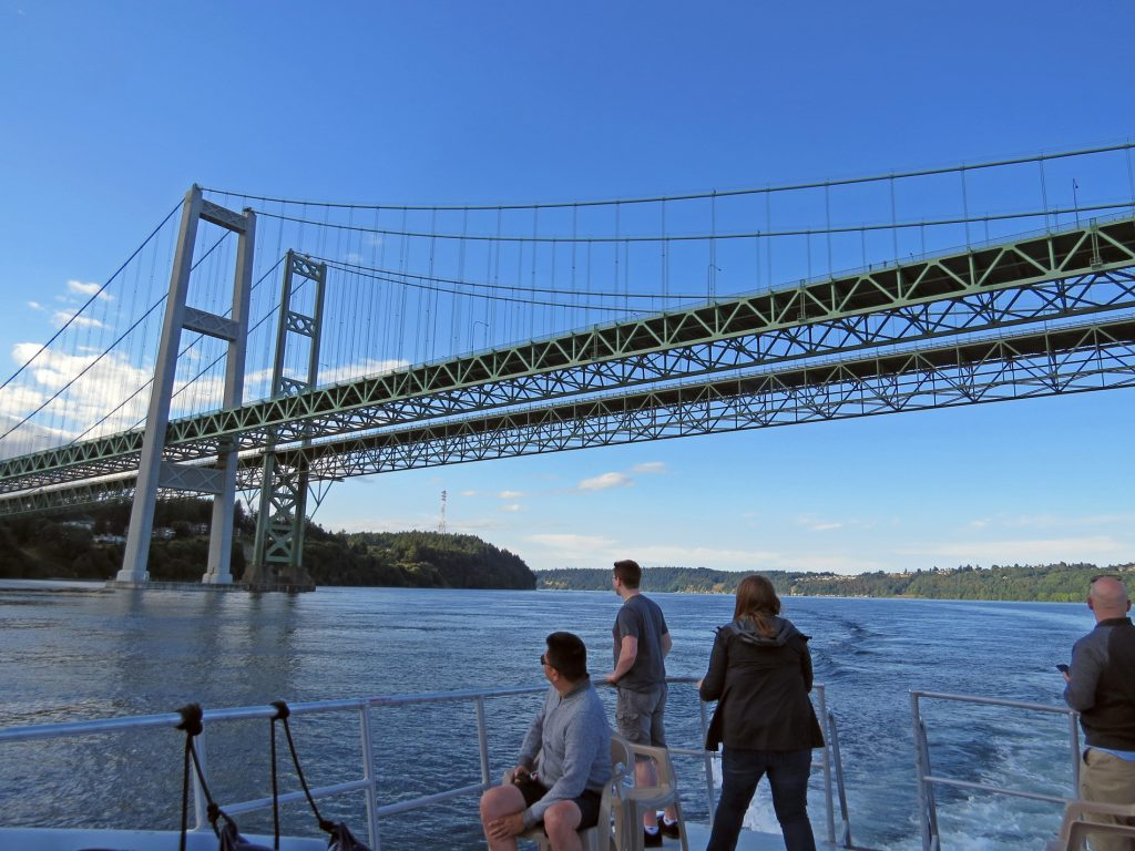 Narrows  Bridge view from Apollo Tours Boat